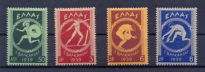 Greece 1939 Balkan Games issue MNH VF.