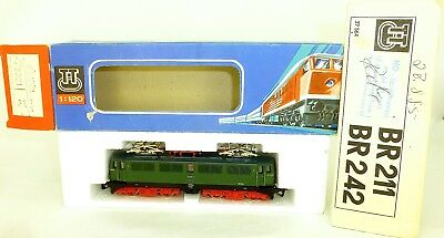 242 018-2 Electric Locomotive Green TT 1:120 Original Box Manual BTTB 2321 Mint