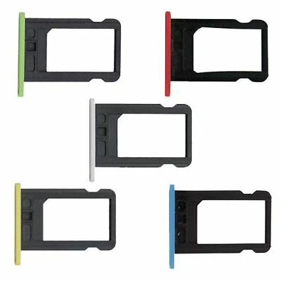 For Apple iPhone 5C Nano SIM Card Tray Slot Holder Repair Part Replacement