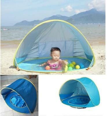 Baby beach tent uv-protecting sunshelter with a pool waterproof pop up