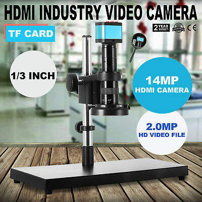 Generic 14MP Hd 3in1 Industry Digital Microscope Camera 180x C-mount Lens Set