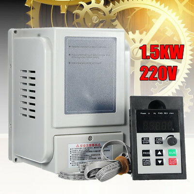 1.5KW 2HP 220V Single To 3 Phase Variable Frequency Drive Inverter CNC VFD VSD