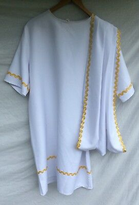 Quality Roman / Greek Costume Ideal For Stage, Theatre, Panto, Fancy Dress Etc.