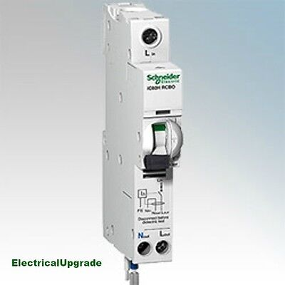 Schneider Electric Offer Circuit Beaker IC60H 1P+N RCBO A9D11820 (20AMP)( 30MA)