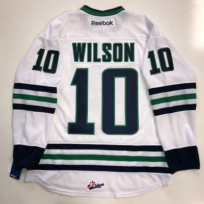 b3173be21ed Tom Wilson Rbk Premier Plymouth Whalers Ohl Jersey New Washington Capitals