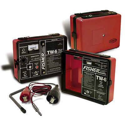 Fisher Labs TW6 Split Box Pipe and Cable Locator, Frequency: 81.92 kHz  .005%