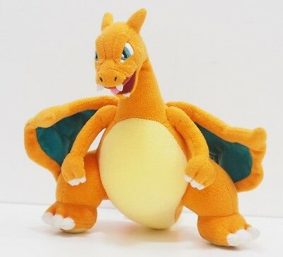 "Charizard Pokemon Center 2009 Original Plush 9"" Toy Stuffed Doll Charmander"