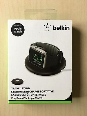 Belkin Travel Charger Stand For Apple Watch Series 1 & 2 38mm & 42mm NightStand
