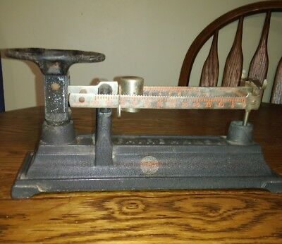 Antique FAIRBANKS SCALE Precious Metals ~ Original Paint