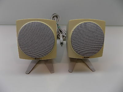 Boston Acoustics Micro Media Computer Speaker System Two Speakers PC Laptop
