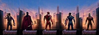 "Avengers End Game Poster 2019 Marvel Movie Characters Art Print 27x40"" 24x36"""