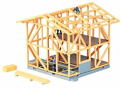 Tomytec Building 071-2 Building Under Construction A2 Wooden 1/150 N scale F/S