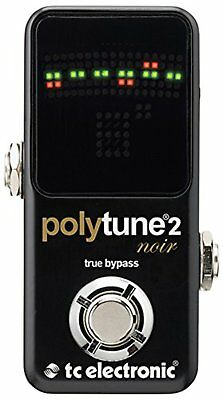 tc electronic polytune 2 Noir polyphonic tuner Free Ship w/Tracking# New Japan