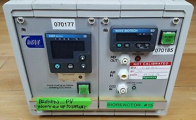 GE Wave Biotech CO2MIX20 CO2 Flow Controller Lab Control Unit