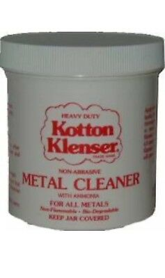 Heavy Duty KOTTON KLENSER 16 OZ Metal Cleaner Restore Copper Pewter Marble Brass