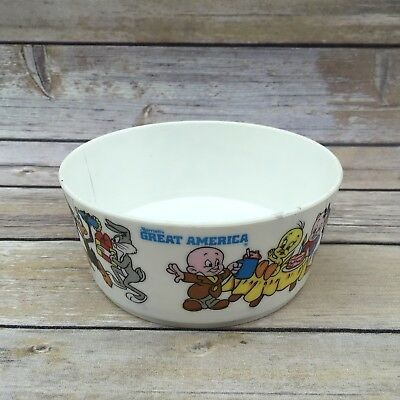 1976 Deka Plastic WB Plastic Looney Tunes Bowl - Marriot's Great America