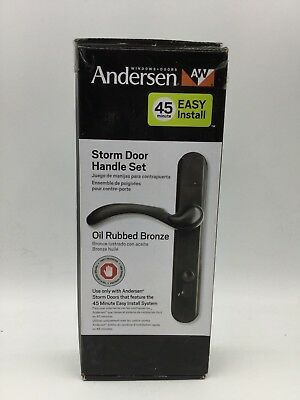 Andersen Storm Door Handle Set - Oil Rubbed Bronze (975123) *NEW