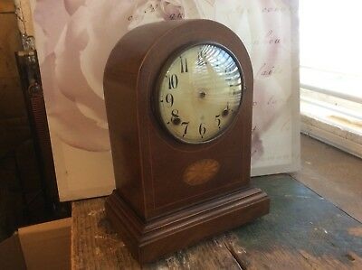 Antique Mantle Clock Case And Face For Reuse