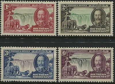 Southern Rhodesia KGV 1935 Silver Jubilee set of 4 unmounted mint NH