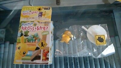 Pokemon Nearby Rement Re-ment Collectible Mini Figure - Psyduck