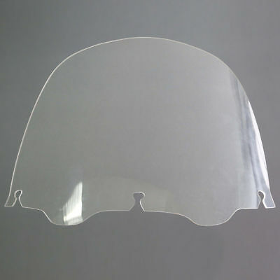 13'' Clear Windshield Windscreen Wind Screen For Harley Touring Electra Glide