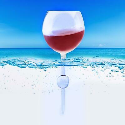 Floating Beach Wine Glass   pool picnic beer bar drinking travel reusable