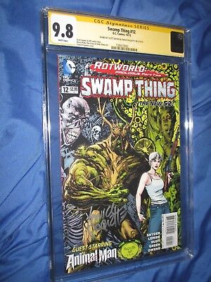 SWAMP THING #12 CGC 9.8 SS Signed by Yanick Paquette & Scott Snyder
