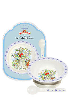 New Bunnykins By Royal Doulton Suction Bowl & Spoon Ttm48