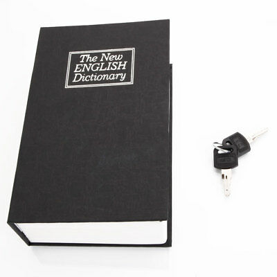 Typical Book Hidden Security Lock Key Home Mini Safe Box Diversion Secret Stash