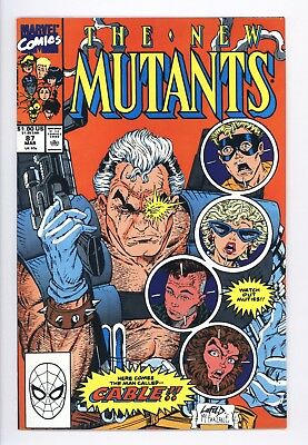 New Mutants #87 Vol 1 Near Perfect High Grade 1st Appearance of Cable