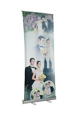 Retractable Banner Stand 30''x79.5''