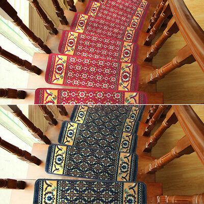 ITS- HK- HK- European Classical Pattern Staircase Carpet Stairs Step Pad Non-sli