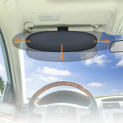 Summer Sun Protection Anti-Glare Car Visor Sunshade Extender for Drivers 1PC