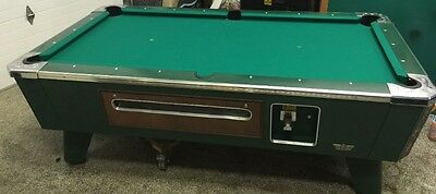 Valley Cougar LE Coin Operated Pool Table ~ 3.5' x 7' New Felt ~ *PICK UP ONLY*