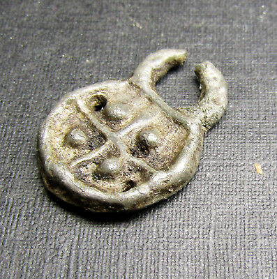 Ancient Viking Tin Bronze Pendants AMULET 7.7.1