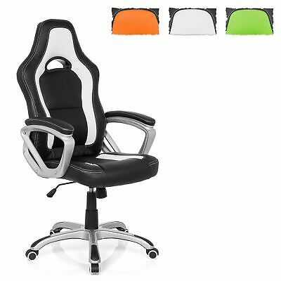 Drehstuhl Sportsitz Büro Racing Chair Schalensitz Stuhl GAMING ZONE PRO AB100