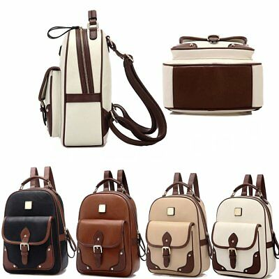 ff5aeeef3119 Women Backpack High Quality PU Leather School Bag Backpacks Girls Teenagers