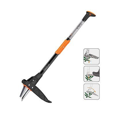 Weed Puller, TACKLIFE Weeder, Garden Lawn Root Remover, Innovative Automatic ...