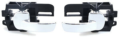 2 x LEFT and RIGHT FRONT REAR inner door handles for NISSAN QASHQAI 2006-2013