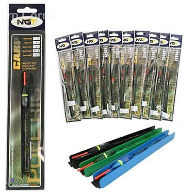 10 x Pole float Carp & Coarse Fishing Tackle BARBLESS Ready Rigs Pole Match NGT