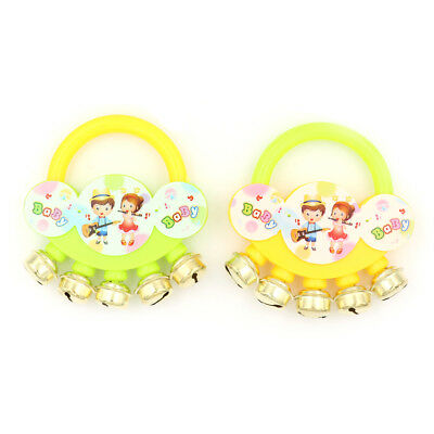 Cartoon Infant Baby Bell Rattles Gift  Toy For Newborns Children ToysHGUK