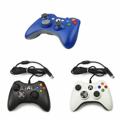 Wired USB Game Controller Gamepad PC Computer Joypad For Microsoft Xbox 360 CU