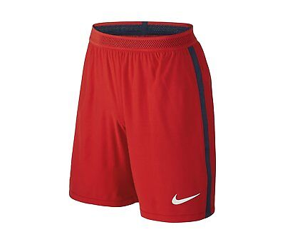 Nike Paris St Germain PSG Vapour Match Shorts 2016 2017 Mens Red Football Soccer