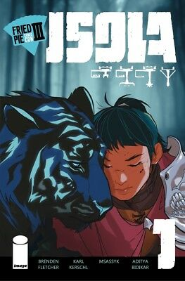 Isola 1 Fried Pie Convention 3 Exclusive Variant Nm
