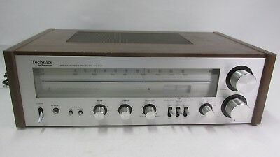 CLEAN Vintage TECHNICS SA-200 AM/FM Stereo Receiver powers on no output - AS IS