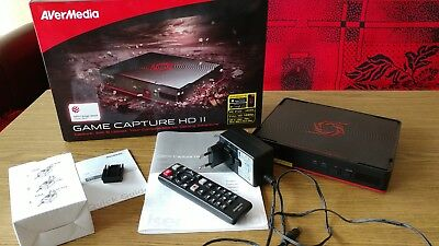 AVerMedia Game Capture HD 2 C285 HDMI 1080p Grabber Recorder PS4 XB1 EUShipping
