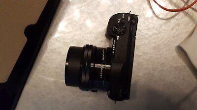 Sony Alpha a5100 Mirrorless Camera with 16-50mm Lens.