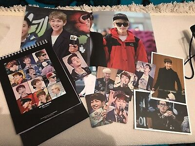 SHINee Onew Calender !!! Fansite goods!!!