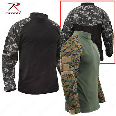 Tactical Airsoft Combat Shirts - Rothco Military Style Long Sleeve Shirt