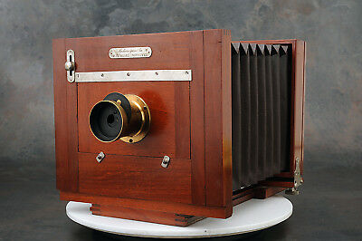"""- Rochester Optical Co. New Model Improved 6 1/2 x 8 1/2"""" Plate Camera"""